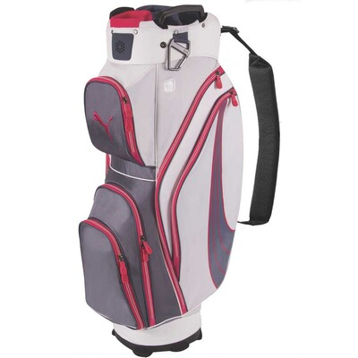 Puma Formstripe Golf Cart Bag Turbulence-White AW15