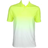 Nike Afterburner Golf Shirt Volt-White SS15