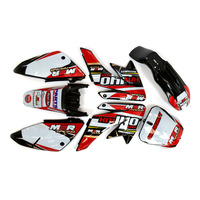CRF70 Red KM140MX Plastics