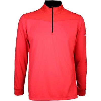 Nike Golf Pullover - Dri-Fit Half Zip Light Crimson SS16