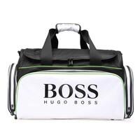 Hugo Boss Bag - Sports Travel Holdall - White - Black - Green 2018