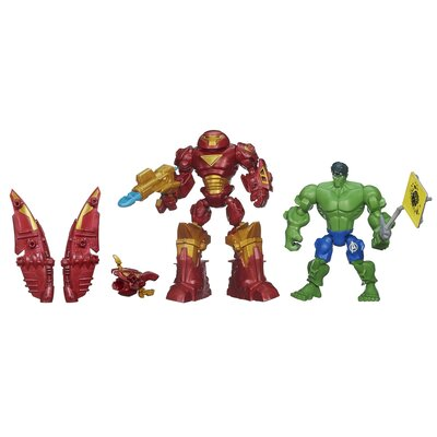 Avengers Marvel Super Hero Mashers Hulkbuster Vs Hulk Mashers