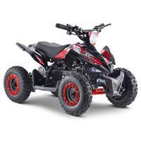 FunBikes Toxic 800w Black Red Kids Electric Mini Quad Bike