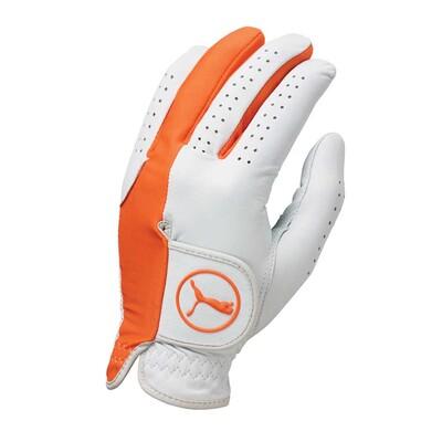 Puma Golf Glove - Form Stripe Vibrant Orange AW16