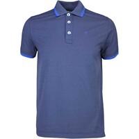 Chervò Golf Shirt - ASPETTO Navy Melange SS16