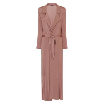 Nazz Collection Enza Blush Slinky Maxi Duster Jacket