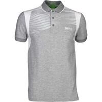 Hugo Boss Golf Shirt - Paddy Pro 1 - Grey Melange PS17