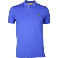 Lyle & Scott Golf Shirt - Elgin Houndstooth - Cobalt SS17