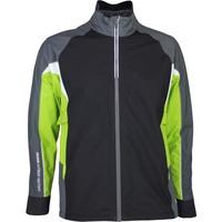 Galvin Green C-Knit Waterproof Golf Jacket - ARGON - Black 2017