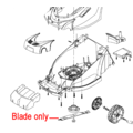Click to view product details and reviews for Cobra Blade Gtrm40 16 Electric Lawnmower 1411209.