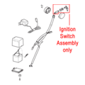 Click to view product details and reviews for Mountfield Ignition Switch Assembly 118450050 0.