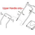 Click to view product details and reviews for Al Ko Lawnmower Upper Handle 453818.