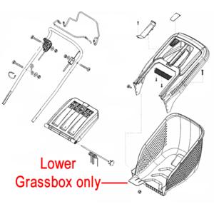 Al Ko Lawnmower Grassbag Lower Box 452746