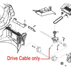 Al Ko 523vs Clutch Drive Cable 454773