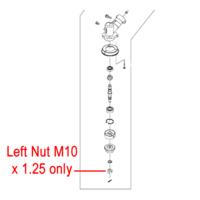Gardencare Left Nut M10 x 1.25 CG305F.1-4