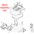 Click to view product details and reviews for Mountfield Wb45 Engine Recoil Assembly 118550909 0.