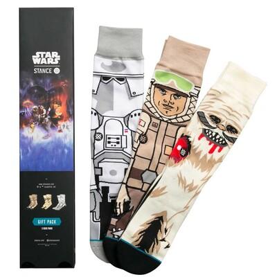 Stance Star Wars Socks Empire Strikes Back Three Pack 2017