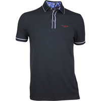 Ted Baker Golf Shirt - Playgo Solid Polo - Black SS17