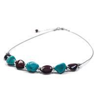 amber-turquoise-silver-tribal-necklace