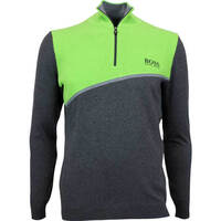 Hugo Boss Golf Jumper - Zymor Pro - Black Melange FA17
