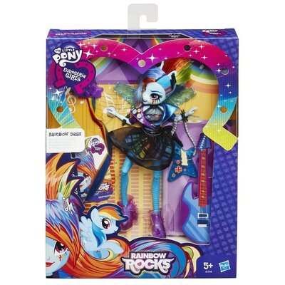 My Little Pony Equestria Girls Rockin Hair Styles Rainbow Dash