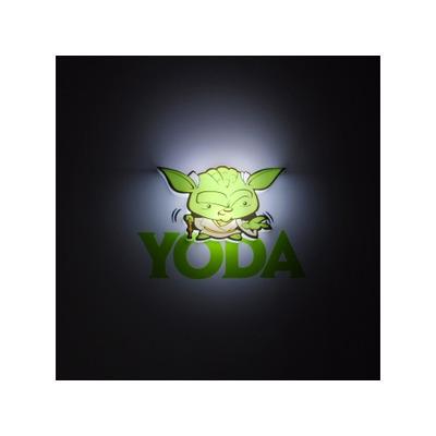 Star Wars Mini 3D LED Wall Light Yoda