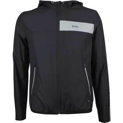 Hugo Boss Golf Jacket - Jeltech 1 Hoodie - Black FA18