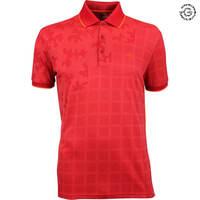 Galvin Green EDGE Golf Shirt - E-Red Camo 2018