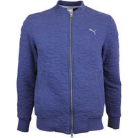 Puma Golf Jacket - Quilted Bomber - Peacoat LE AW18