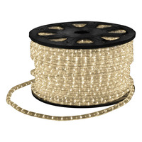LED Rope Light with Wiring Accessories 45m Cool White