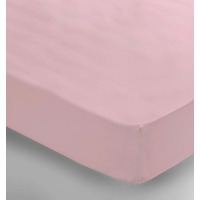 Single Fitted Sheet - Pink
