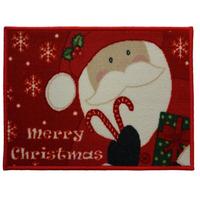 Santa, Christmas Themed Door Mat
