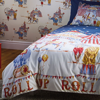 Circus Fun, Childrens Single Bedding Set