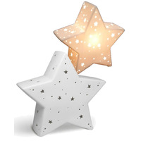3D Ceramic Night Light - Star