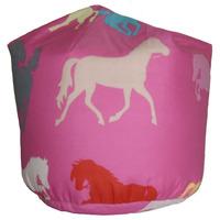 Pink, Horse Bean Bag
