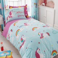 Unicorn Fairytale Single Bedding