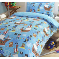 Sea Pirates Single Bedding Set