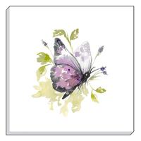 Purple Butterfly Canvas Art 40 x 40 cm