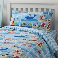 Patch, Seaside Themed Toddler Bedding