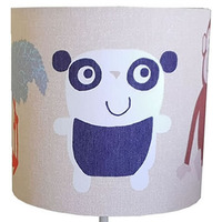 Animal Kingdom Fabric Lampshade