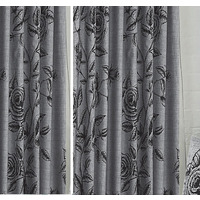 Wild Rose, Slate Curtains 72s