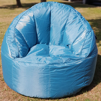 Large, Garden / Outdoor Bean Bag / Seat - Teal Blue