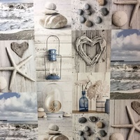 Maritime, Seaside Collage Wallpaper