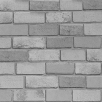 Diamond, Silver Brick Wallpaper