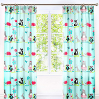 Woodland Friends Curtains 72s