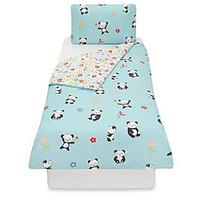 Cute Panda Toddler Bedding
