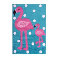 Pink Flamingo Rug 80 x 120 cm