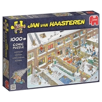Jumbo 19030 Jan Van Haasteren Christmas Eve Jigsaw Puzzle (1000-piece)