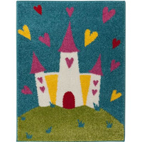 Princess Castle Rug 80 x 120 cm
