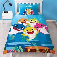 Baby Shark Single Duvet - Underwater
